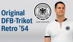Original DFB Trikot (Retro 54) kostenlos bei jeder Inspektion/Bremsflüssigkeitswechsel @Bosch-Service