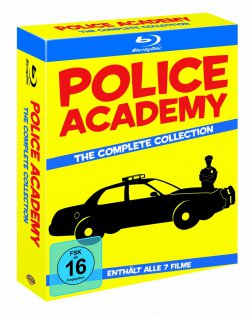 Police Academy 1 – 7 als Blu-ray Kollektion für 29,97€ @amazon.de