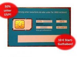 prepaid SIM Karte inkl. 10€ Guthaben von FONIC für nur 4,99 EUR inkl. Versand @eBay