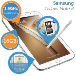 Samsung Galaxy Note 8.0 WiFi 16GB – QuadCore 205,90€ statt 227,90 € @iBOOD Extra