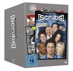 Scrubs: Die Anfänger – Die komplette Serie (Staffel 1-9) für nur 48,97€ bei Amazon mit dt. Tonspur