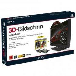 Sony SimulView 24″ 3D-Monitor + 2x 3D Brillen + Killzone 3 + und Gran Turismo 5 für 195,99€ mit Versand (statt 268€) @redcoon