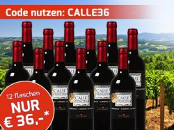Top-Seller aus 2013 bei Weinvorteil: Durch Gutschein 3€ statt 7,99€ pro Fasche; TOP-Angebot: 12er Paket Calle Principal