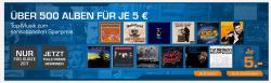 Über 500 Top Alben als CD oder Download für je 5€ @Saturn