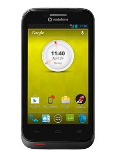 Vodafone Smart III Schwarz oder weiss einmalig mit CallYa Smartphone Fun 15 für 49€ [idealo 99€]