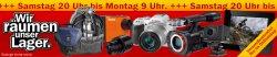 Wir räumen unser Lager @Media Markt – Kamera und Zubehör Sale z.B. Panasonic Lumix DMC-GF5 für 199 € (376 € Idealo)