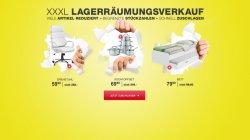 XXXL-Shop: Lagerräumungsverkauf mit diversen Schnäppchen