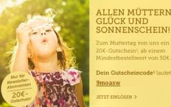 zum Muttertag 20€ Gutschein für brands4friends.de
