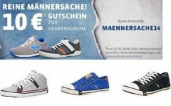 10 EUro Rabatt auf Männerschuhe bei mirapodo.de mit Code MAENNERSACHE14 (MBW 39€) – nur noch heute