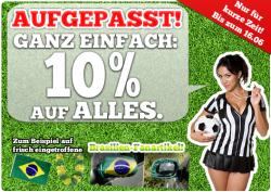 10€ Gutscheincode für Echerfanshop.de gültig bis 10.06.2014