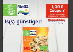 1€ Coupon für ein Frosta Gericht @Frosta.de