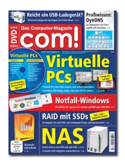 2 Ausgaben com – magazin mit DVD kostenlos Testen@ abo.com-magazin