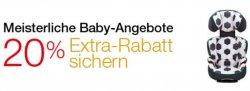 23.-29.06. auf 80 Babyartikel 20%, Family-Mitglieder 25% @amazon.de