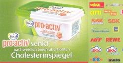 [Lokal] 2,50 Euro Gutschein für eine Packung Becel pro.activ Margarine (Kosten: 2,49 – 2,99 Euro)
