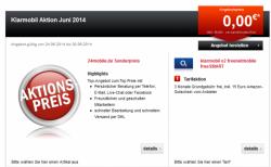 3 Monate klarmobile kostenlos + 15€ Amazongutschein @ 24mobile.de