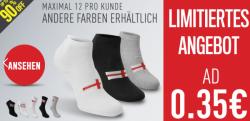 3 Paar Socken ab 0,35€ oder Sandalen ab 1,49€ je Paar @sportsdirect.com