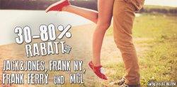 30-80% Rabatt auf alle Artikel der Marken Jack & Jones, MCL, Frank NY und Frank Ferry bei Hoodboyz ab heute für nur 3 Tage