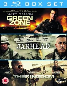 3er Pack: Green Zone / Jarhead / The Kingdom für 8,75€ @zavvi.com