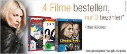 4 Filme oder Serien kaufen und nur 3 bezahlen @Amazon