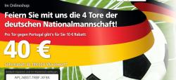 40€ Gutschein auf ALLES (ab 199€ MBW !) nur heute @real.de | z.B. Captiva 9.7″ Tablet mit DVB-T für nur 159€
