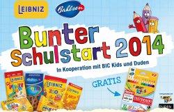 5 Bahlsen- oder Leibniz Produkte kaufen, gratis BIC Kids Evolution Stifte und Buch erhalten
