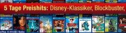 5 Tage Preishits: Disney-Klassiker, Blockbuster, US-Serien & mehr bei Amazon