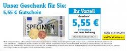 5,55€ Gutschein + (Versand kostenlos per Sofortüberweisung) @Conrad