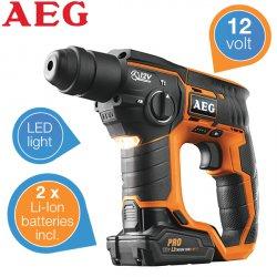 AEG BBH-12 SDS-Plus Akku Bohrhammer für 149,95 € zzgl. 5,95 € Versand (249,90 € Idealo) @iBOOD Extra
