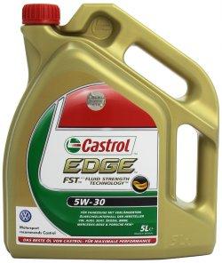@amazon.de Castrol EDGE FST 5W-30 Synthese Motorenöle – 5L Flasche  für 31,99€ (Idealo: 35,10€)
