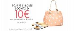 @amazon.it: 10€ Rabatt ab 50€ MBW auf Schuhe, Geldbörsen und Taschen