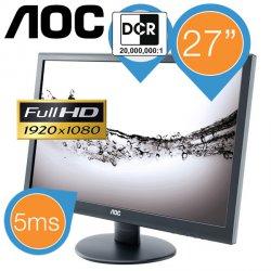 AOC 27 Zoll Full HD LED-Monitor für 149,95 € zzgl. 8,95 € Versand (180,98 € Idealo) @iBOOD Extra