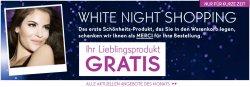 Bis 23.06.2014 12 Uhr ist White Night – das erste Produkt im Warenkorb ist kostenlos @ Yves Rocher