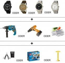 Bruno Banani Armbanduhr + Schlagbohrmaschine + Multifunktionstool für 39€ ( Idealo Preis nur für die Uhr 59,95 €) @eBay
