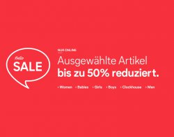 C & A Sale bis zu 50% Rabatt @ C & A