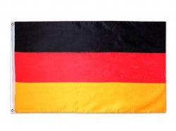 Deutschland Fahne Flagge mit Ösen 150x90cm für nur 2,99 Euro inkl. Versandkosten (statt 6,82 Euro bei Idealo) bei Ebay