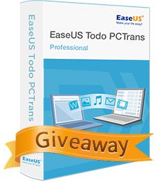 EaseUS Todo PCTrans Pro 6.5  kostenlose Lizens anfordern@ Easeus.com