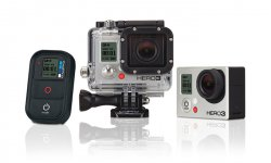 GoPro Actionkamera Hero3+ Silver Edition oder Black Edition oder Hero3 White Edition Slim ab 179 € inkl. Versand