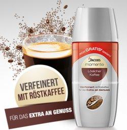 Gratis Jacobs Kaffee momente – Aktionspackungen