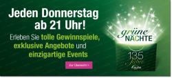 Grüne Nacht bei Galeria Kaufhof ab 21.00 Uhr, heute excluvies Angebot für Männer