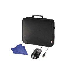 Hama Notebooktasche bis 17,3 Zoll + optische Maus + Reinigungstuch für 14,99 € inkl. Versand (39,99 € Idealo) @Digitalo