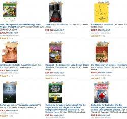 Heute 10 eBooks gratis – Taschenbuchpreise insgesamt 73€