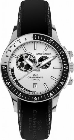 Jacques Lemans UEFA Champions League Herrenarmbanduhr für 94,97 € (159,20 € Idealo) @Amazon