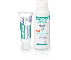 Kostenlos elmex SENSITIVE PROFESSIONAL Zahnpasta und Zahnspülung Testpaket @elmexsensitive