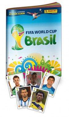 Kostenlos Panini FIFA WM 2014 Brazil Sticker Album statt 1,99€ @Gameseek.co.uk