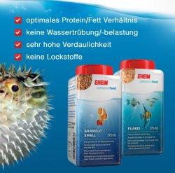 Kostenlose EHEIM Fischfutter anfordern – Auswahl Süß- oder Salzwasser @eheim.de