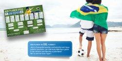 Kostenloser WM Planer in XXL Format bestellen – kostenloser Versand@ Lew-trends