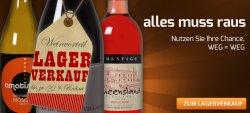 Lagerverkauf mit bis zu 50% Rabatt + 20,00 € Gutschein @Weinvorteil