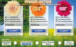 Late Night Shopping & große Pfingst Aktion mit bis zu 50 € Rabatt @Plus.de