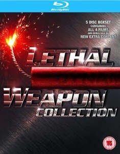 Lethal Weapon 1-4 Blu Ray Set Box für 12,49€ (£9.99 ) [idealo 32,98€] @zavvi.com