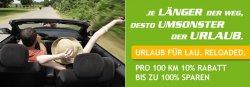 Lindner Hotel Urlaub für Lau Reloaded: 10% Rabatt pro 100km Anreise = ab 1000 km  zwei Übernachtungen gratis